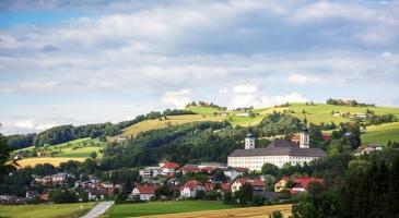 Ansicht Schlierbach von süden