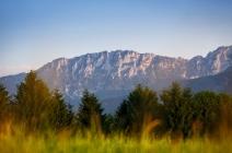 Blick ins Gebirge
