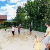 Beachvolleyballplatz